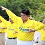 Первый комплекс упражнений Фалуньгун