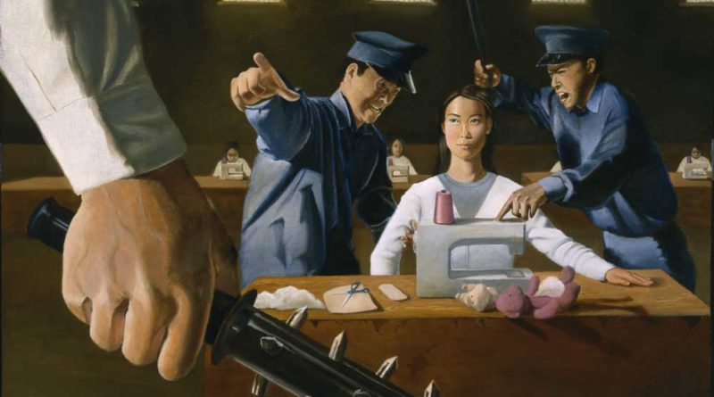 Рабский труд заключённых в трудовых лагерях Китая