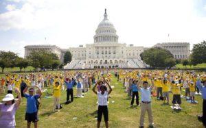 Общественный митинг на Капитолийском холме в Вашингтоне