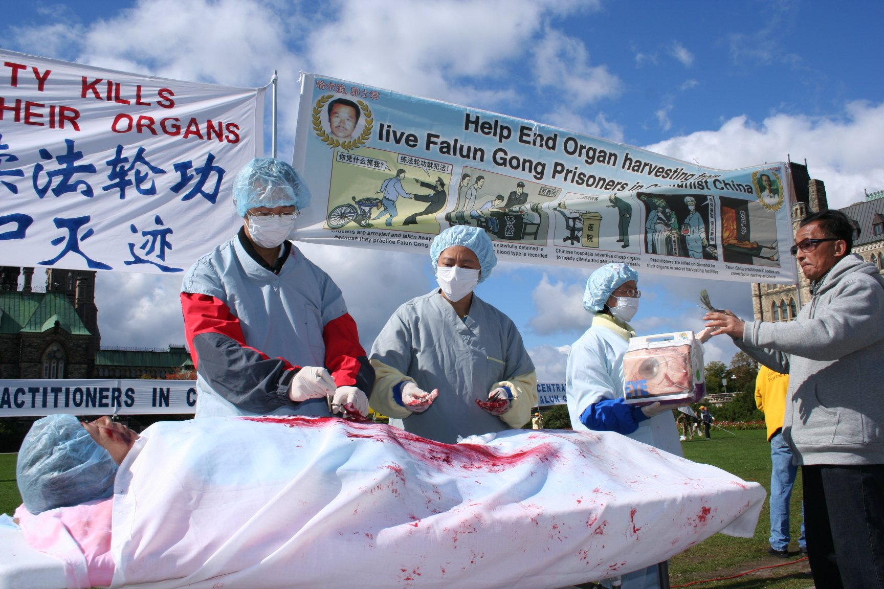 Из практикующих Фалуньгун в Китае создают базу доноров органов