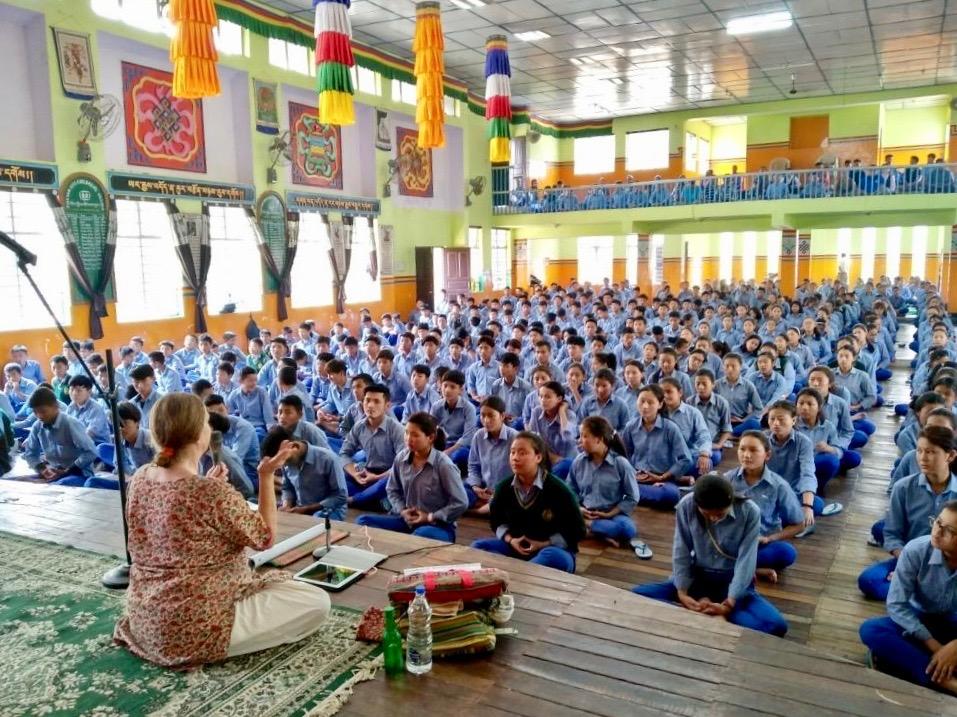 Семинар Фалуньгун в Индии