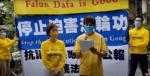 В Гонконге 3 мая протестовали против клеветы на Фалуньгун